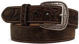 Ariat Brown Tooled Leather Belt