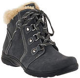 Earth Origins Suede Water Repellent Ankle Boots- Crowley