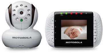 """Motorola Digital Video Baby Monitor with 2.8"""" Color LCD Screen"""