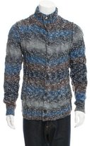 Dolce & Gabbana Patterned Cable Knit Cardigan