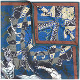 Etro paisley print pocket square