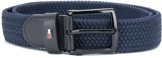 Tommy Hilfiger Denton braided elasticated belt