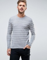 ONLY & SONS Sweater With Knitted Stripe