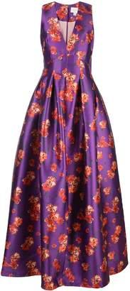 Sachin + Babi floral print ball gown