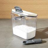 Crate & Barrel Progressive ® ProKeeper 1.4-Qt. Powdered Sugar Storage Container
