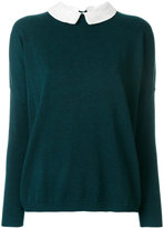Steffen Schraut detachable collar jumper