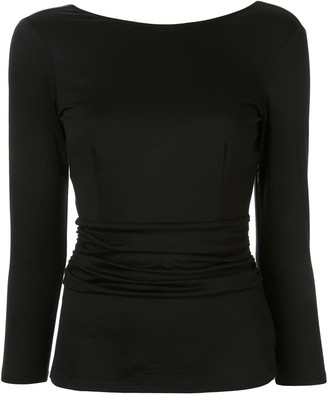 Paule Ka Crew Neck Long-Sleeved Top