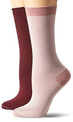 Marc O'Polo Body & Beach Women's W-SOCKS 2-PACK(Size Of : 400) (Pack of 2