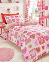 Fashion World Lace Hearts Duvet