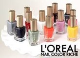 L'Oreal Lot of 10 Finger Nail Polish Color Lacquer All Different Colors No Repeats by Paris
