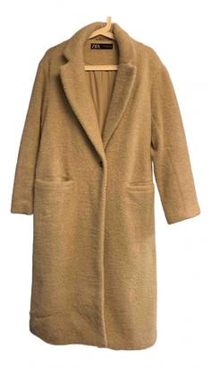 Zara Beige Viscose Coats