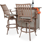 Island Breeze 3-Pc. Bar Set (Table & 2 Bar Stools), Quick Ship