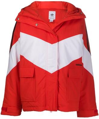 adidas Iconic Winter hooded jacket