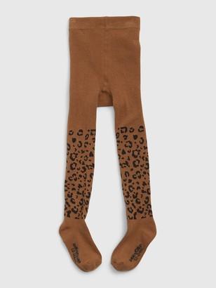 Gap Toddler Leopard Print Tights