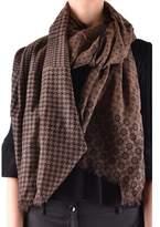 Altea Women's Brown Wool Scarf.