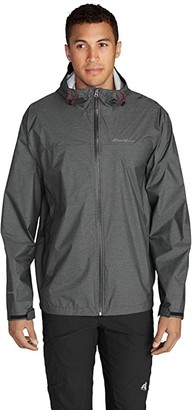 Eddie Bauer Cloud Rain Jacket (Dark Smoke Heather) Men's Coat