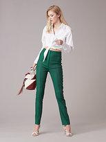 Diane von Furstenberg High-Waisted Skinny Pant