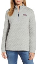 Vineyard Vines Women's Shep Quilted Quarter Zip Pullover