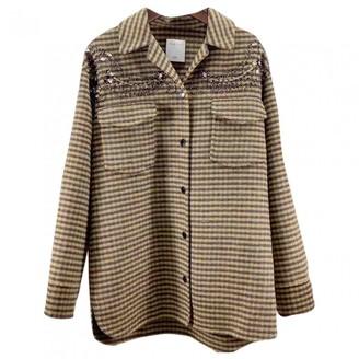 Sandro Beige Coat for Women