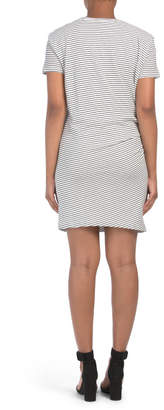 Classic Stripe Side Tie Dress
