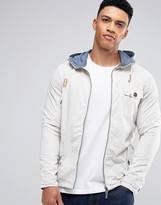 Brave Soul Zip Through Trench Jacket