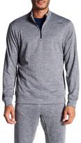 Reebok Workout Ready Grid Fleece 1/4 Zip Jacket