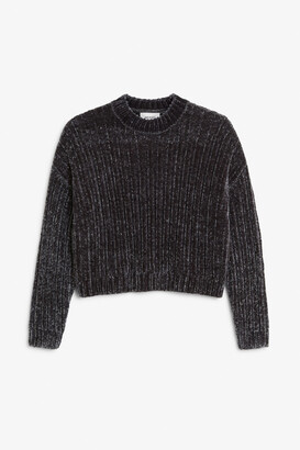 Monki Velvety knit sweater