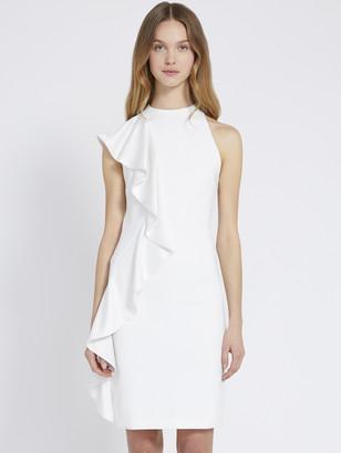 Alice + Olivia Stephanie Ruffle Mini Dress