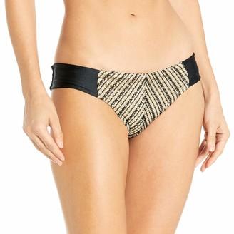 Luli Fama Women's Desert Babe Tab Sides Full Bikini Bottom