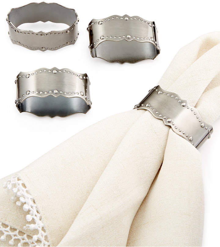 Lenox 4-Pc. French Scroll Napkin Rings