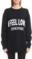 Givenchy Women's I Feel Love Cotton Sweater