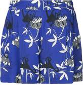 Markus Lupfer printed high-waisted shorts