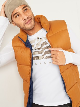 Old Navy Go-Dry Thermal-Knit Graphic Long-Sleeve Tee for Men