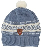 Dale of Norway Cortina Hat (4-8 Years) (Blue Shadow/Off-White) Beanies
