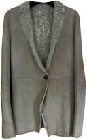 Calvin Klein Beige Shearling Jackets