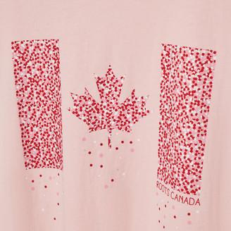 Roots Womens Canada Flag T-shirt