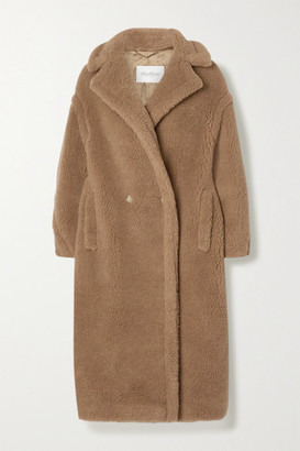 Max Mara Teddy Bear Icon Camel Hair And Silk-blend Coat - Sand