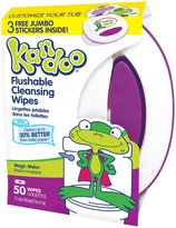 Kandoo Flushable Toddler Wipes