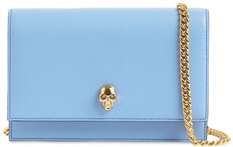 Alexander McQueen Skull Smooth Leather Bag
