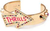 Maria Francesca Pepe Thrills Cuff Bracelet