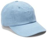 Chambray denim baseball hat