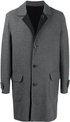 Corneliani Reversible Single-Breasted Coat