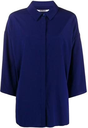 Chalayan Oversized Batwing-Sleeve Shirt