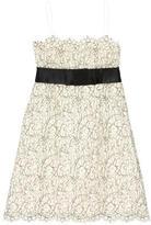 Marc Jacobs Lace Bow Dress