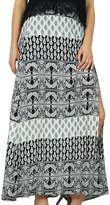 Bimba Women A Line Rayon Printed Skirt Boho Style Maxi Indian Clothing