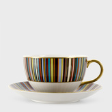 Paul Smith for Thomas Goode - Signature Stripe Bone-China Breakfast Cup and Saucer