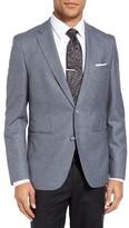 BOSS Men's Jedson Trim Fit Check Wool Sport Coat