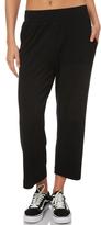 Swell Blackwall Flatfront Cropped Wide Leg Pants Black