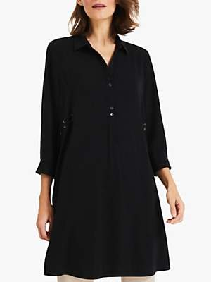 Phase Eight Esi Tunic Dress, Black