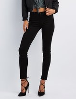 Charlotte Russe Refuge Skin Tight Legging Black Jeans